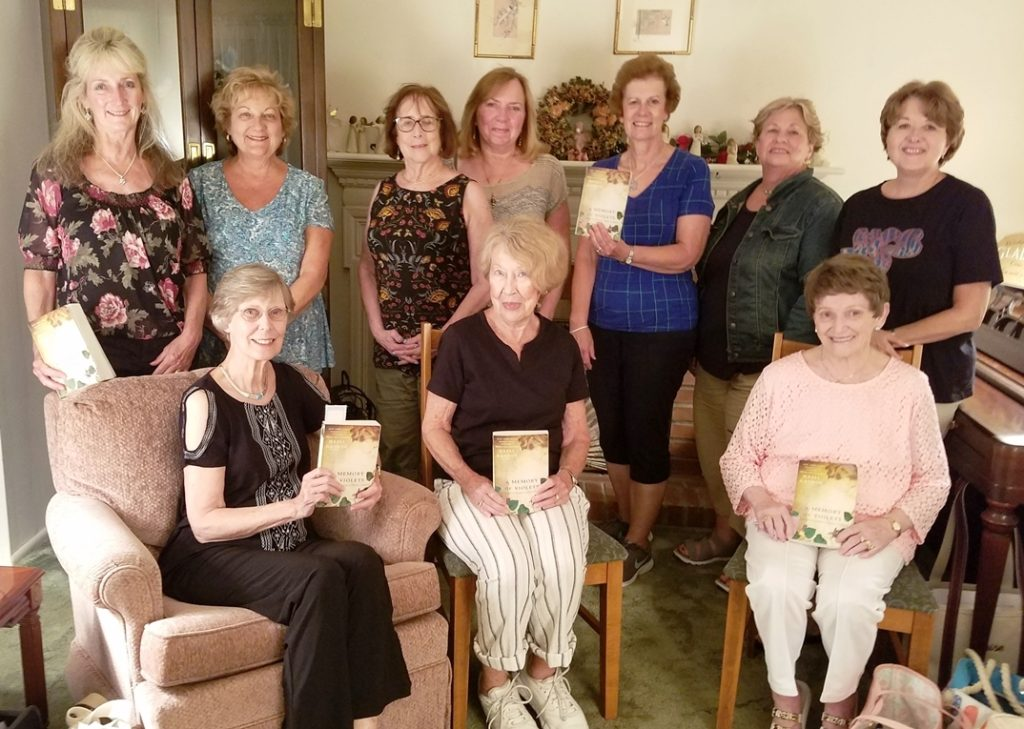 "August Book Club ""A Memory of Violets"""