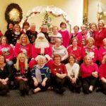 Club photo at December meeting