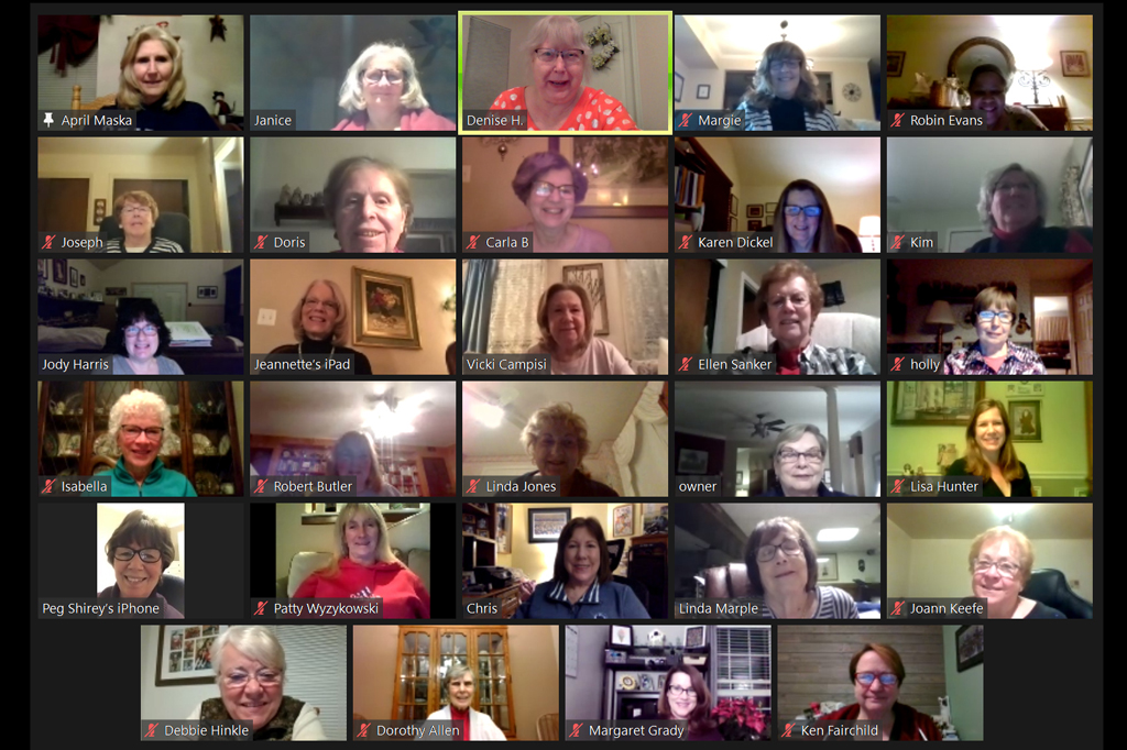 May Meeting on Zoom