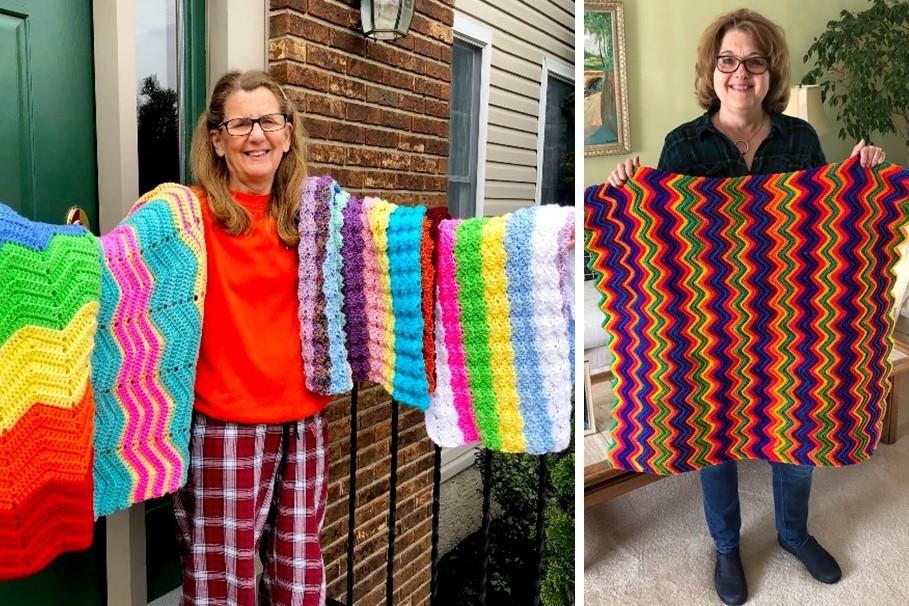 Rainbow Blankets for Rainbow Babies